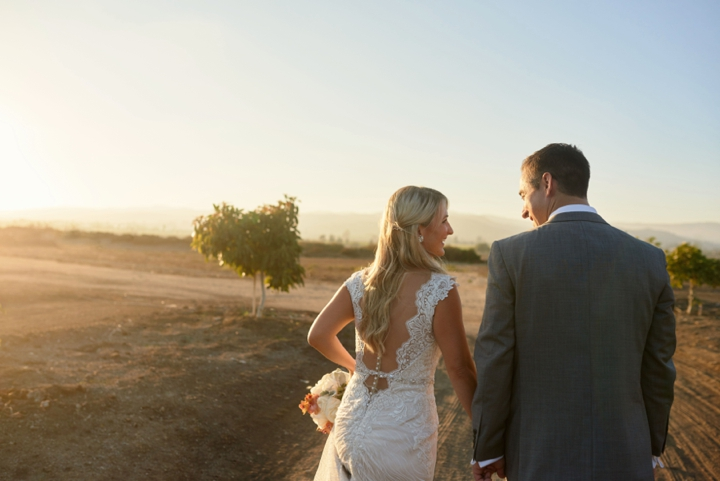 Christy and Brian's California wedding