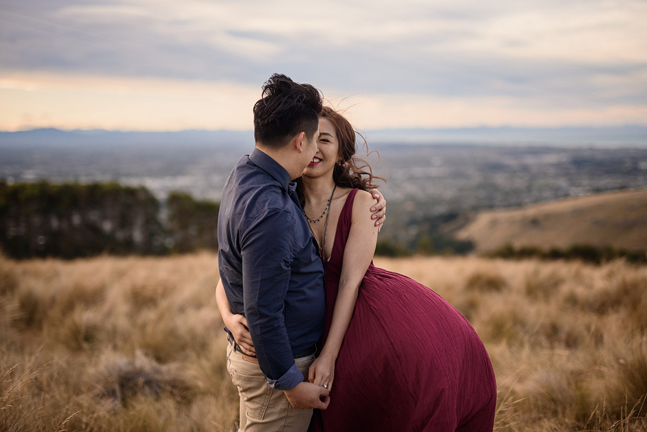 JK-Christchurch-Pre-Wedding-Photos-Emma-Brittenden-Port-Hills-17