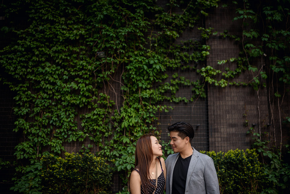 New York City post-wedding couple photos