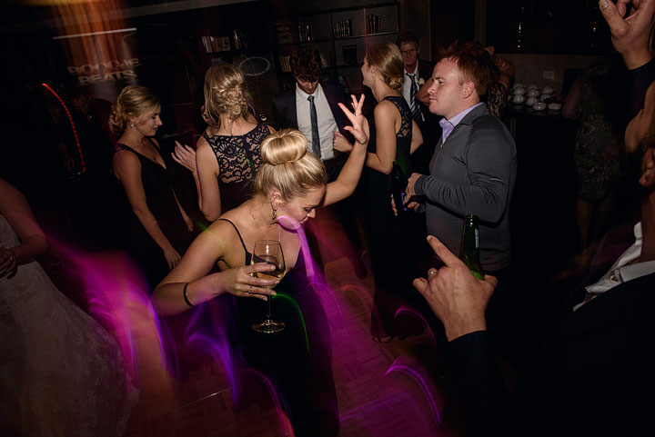 Dancefloor at Braemar Lodge