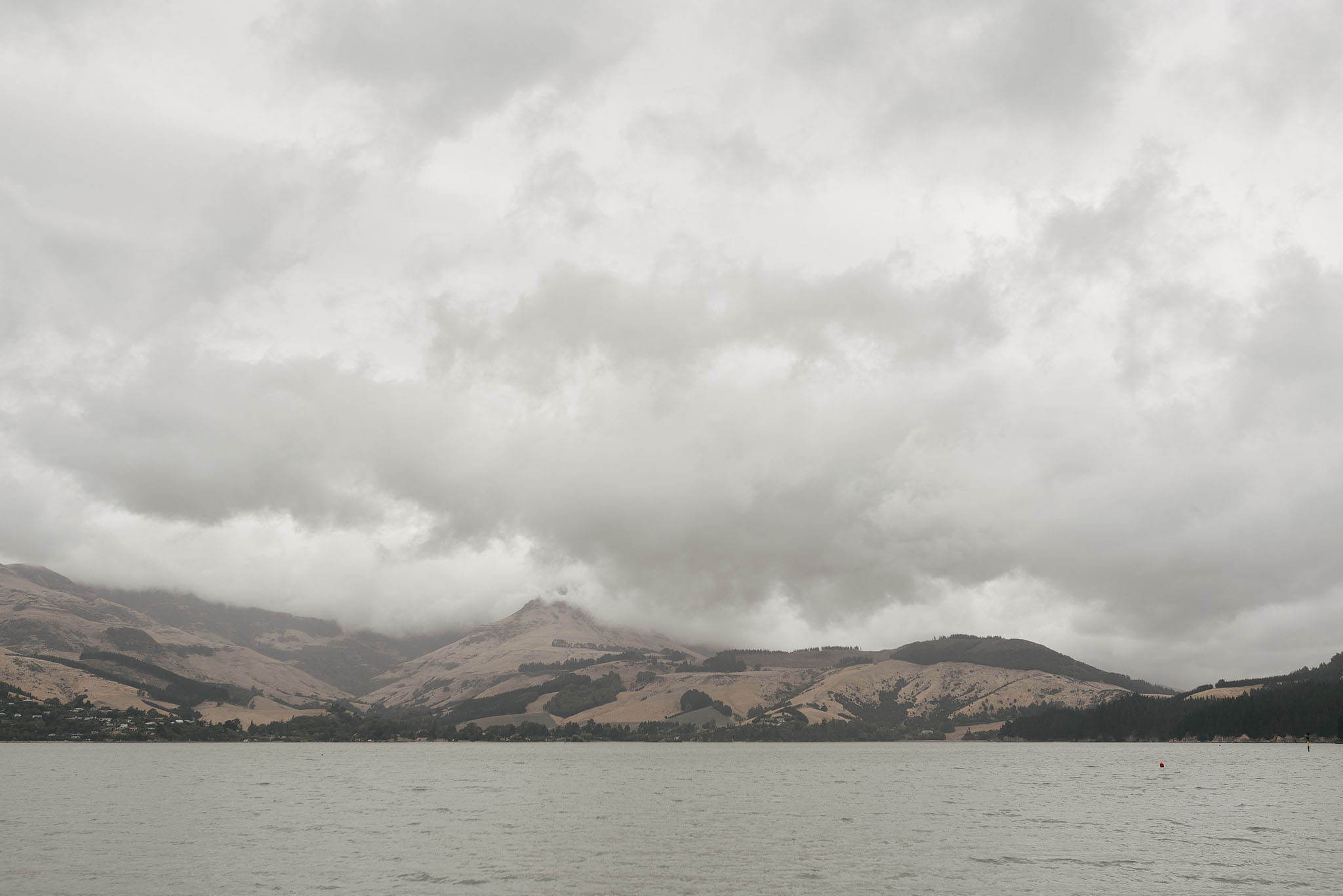 Lyttelton harbour - view from Quail Island
