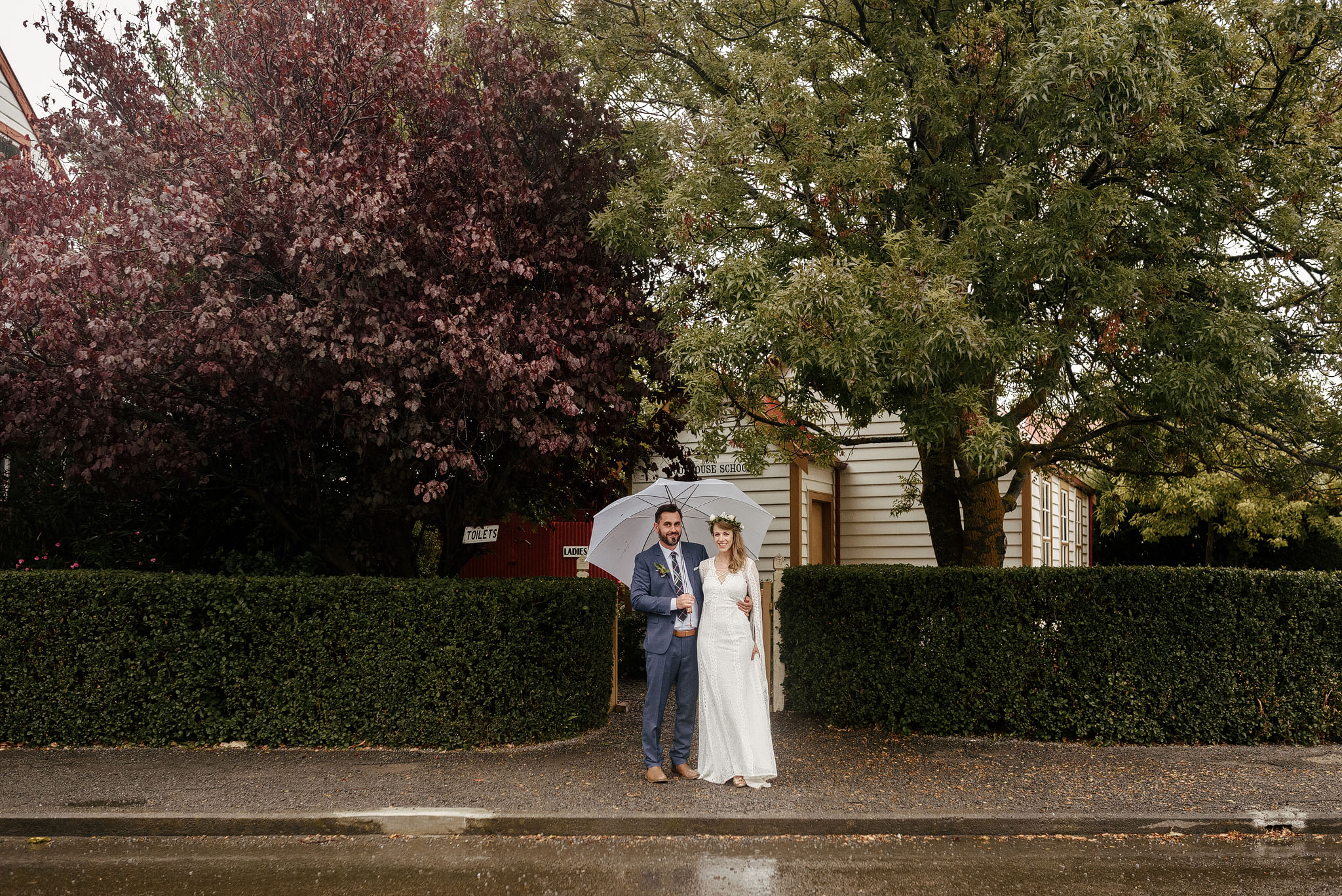 Ferrymead Historic Park wedding photo